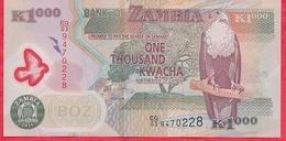 Zambie 1000 Kwacha 2011 Bon état - Zambie