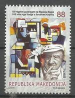 MK 2018-18 IBRAHIM KODRA, MACEDONIA, 1 X 1v, MNH - Macédoine