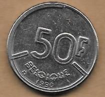 50 Francs Baudouin I 1990 FR - 1951-1993: Baudouin I