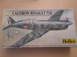 Maquette Plastique AIRFIX 1/72e : AVION ARMEE DE L'AIR 1940 CAUDRON RENAULT 714 à Pilote Polonais - Airplanes