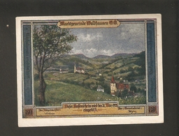 T.  Austria Ober-Österreich Notgeld Der Stadt Marktgemeinde Waldhausen O.O. 80 Heller 1921 - Austria