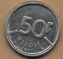 50 Francs Baudouin I 1987 FL - 1951-1993: Baudouin I