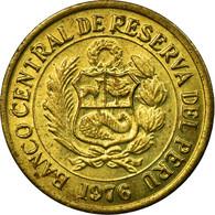 Monnaie, Pérou, Sol, 1976, Lima, TB+, Laiton, KM:266.1 - Pérou