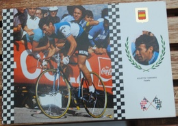 AGUSTIN TAMAMES ESPAGNE    N 3 SERIE CICLISMO - Cycling