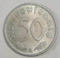 ALLEMAGNE : 50 REICHSPFENNIG 1940 G Aluminium Superbe (voir Scan) - 50 Reichspfennig