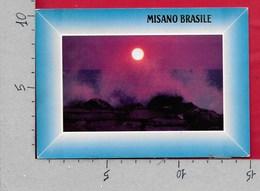 CARTOLINA VG ITALIA - MISANO BRASILE (RN) - Incanto Della Riviera Adriatica - 10 X 15 - ANN. 1986 - Rimini