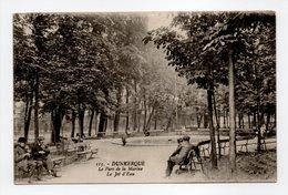 - CPA DUNKERQUE (59) - Le Parc De La Marine - Le Jet D'Eau - Edition C. A. R. 115 - - Dunkerque
