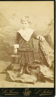 CDV - LE JEUNE - PARIS - Jeune Fille Au Sceau - Alte (vor 1900)