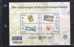 Malta 2006 / 50 Anniversary CEPT Europa MNH - 2005