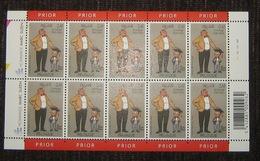 Belgie - Belgique 3144** Velletje Van 10 Postfris - Feuillet De 10 Timbres - Hommage Marc Sleen 80 Jaar - Nero Pl 3 - Panes