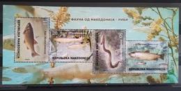 MACEDONIA 2018 Fauna Fishes MNH - Macédoine