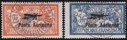 France   .   Yvert    .    PA  1/2   ( 2 Scans, Signé )        .      O      .     Oblitéré - 1927-1959 Oblitérés