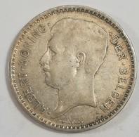 BELGIQUE : 20 FRANCS 1934 Argent (voir Scan) - 1909-1934: Albert I