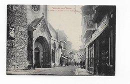 CPA 11 Limoux Eglise Et Rue St Martin Port Simple Gratuit - Limoux