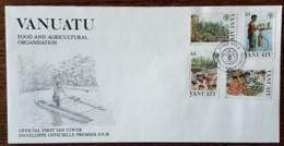 Vanuatu - FDC 1988 - YT N°814 à 817 - Journée Mondiale De L'Alimentation - Vanuatu (1980-...)