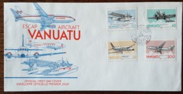 Vanuatu - FDC 1989 - YT N°826 à 829 - ESCAP / Commission économique Et Sociale Pour L'Asie Et Le Pacifique - Vanuatu (1980-...)