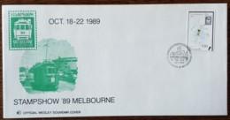 Vanuatu - FDC 1989 - YT N°836 - Melbourne'89 / Expposition Philatélique Nationale - Vanuatu (1980-...)