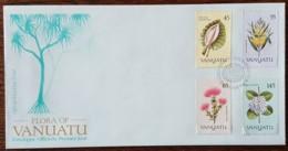Vanuatu - FDC 1990 - YT N°838 à 841 - Flore / Fleurs - Vanuatu (1980-...)