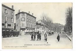 MONTBRISON    (cpa 42)   Boulevard Carnot (Côté Gauche)   -  L 1 - Montbrison