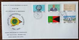 Vanuatu - FDC 1990 - YT N°846 à 850 - Indépendance - Vanuatu (1980-...)