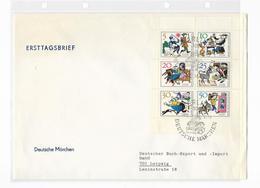 DDR FDC KLB 1236-1241 Deutsche Märchen - FDC: Briefe