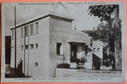 CARTE NUITS SAINT GEORGES - 21 - ETABLISSEMENT DE BAINS DOUCHES - SCAN RECTO/VERSO -11 - Nuits Saint Georges