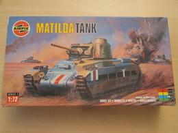 Maquette Plastique AIRFIX : CHAR DE COMBAT ANGLAIS 39/45 1/72 MATILDA 8th Army Guerre Du Désert - Military Vehicles