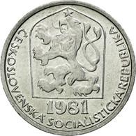 Monnaie, Tchécoslovaquie, 10 Haleru, 1981, TTB, Aluminium, KM:80 - Tchécoslovaquie