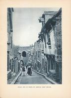 1938 - Héliogravure - Dinan (Côte-d'Armor) - La Porte Jerzual - FRANCO DE PORT - Vieux Papiers