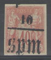 SAINT-PIERRE Et Miquelon:  N°6 NSG        - Cote 50€ - - St.Pierre Et Miquelon
