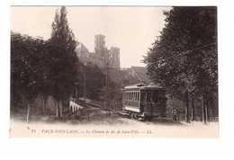 Tram Tramway Vaux Sous Laon Le Chemin De Fer De Laon Ville - Tram