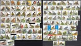 AB0117 - Série Oiseaux Buzin Complète 1985-2018 (114 Différents Timbres) - 1985-.. Birds (Buzin)