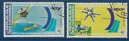 """Comores Aerien YT 145 & 146 (PA) """" Télécommunications """" 1978 Oblitéré - Comores (1975-...)"""
