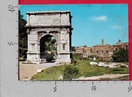 CARTOLINA VG ITALIA - ROMA - Arco Di Tito - 10 X 15 - ANN. 1968 - Roma