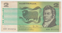 Australia 2 Dollar 1983 VF++ CRISP Banknote Pick 43d 43 D - Emisiones Gubernamentales Decimales 1966-...
