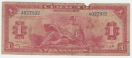 """CURACAO 1 GULDEN 1942 """"VG"""" Pick 35a 35 A - Netherlands Antilles (...-1986)"""