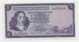 South Africa 5 Rand 1975 UNC NEUF Pick 112c 112 C - Afrique Du Sud