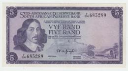 South Africa 5 Rand 1975 XF Pick 112c 112 C - Afrique Du Sud
