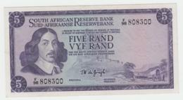 South Africa 5 Rand 1967 - 1974 AUNC Pick 111b 111 B - Afrique Du Sud