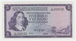 South Africa 5 Rand 1975 AUNC Pick 111c 111 C - Afrique Du Sud