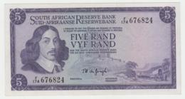 South Africa 5 Rand 1967 - 1974 F++ Pick 111b 111 B - Afrique Du Sud