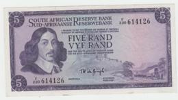 South Africa 5 Rand 1967 - 1974 F+ Pick 111b 111 B - Afrique Du Sud