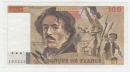 France 100 Francs 1978 VF++ Pick 154b 154 B - 1962-1997 ''Francs''