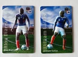 Lot De 2 Magnets FOOTBALL - - Sports