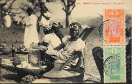 CPA - Afrique > Guinée Française - MAMOU - Au Marché - Daté 1917 - TB. état - Guinée Française
