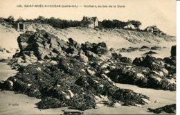 CPA - SAINT-BREVIN-L'OCEAN - ROCHERS AU BAS DE LA DUNE (ETAT PARFAIT) - Saint-Brevin-l'Océan