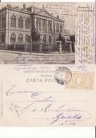 Romania,Rumanien,Roumanie    - Bucuresti.Scoala Comerciala - Rumania