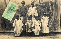 CPA - Afrique > Guinée Française - CONAKRY - Jeunes Filles Soussons - Daté 1916 - TB. état - Guinée Française