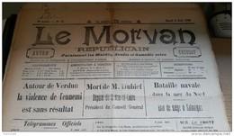 WW1 JOURNAUX DE GUERRE Du 6 Juin 1916 A VOIR - Documents Historiques