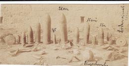 Photo 14-18 SAINT-MIHIEL - Une Série D'obus Au Camp Des Romains (A181, Ww1, Wk 1) - Guerre 1914-18